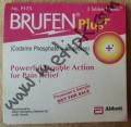 Brufen Plus (Codeine Phosphate + Ibuprofen) 10 tablets / Strip
